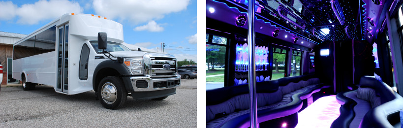 20 passenger party bus alabama