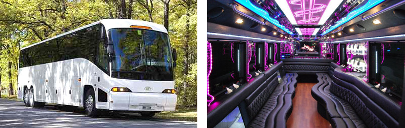 50 passenger party bus rentals alabama